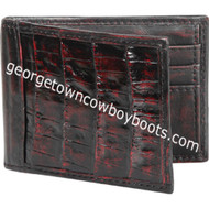 Men's Lombardy Caiman Belly Wallet CA48218