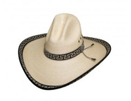 Shooting Fever 30X Straw Hat by Bullhide & Montecarlo Style 2821