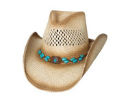 Doin' Great Straw Hat by Bullhide & Montecarlo Style 2980