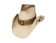 More Than A Memory Straw Hat by Bullhide & Montecarlo Style 2434