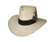 Wild As You Straw Hat by Bullhide & Montecarlo Style 2965