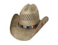 Custer Trail Straw Hat by Bullhide & Montecarlo Style 2966
