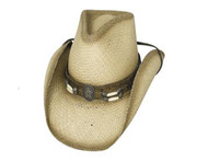 Dundee Straw Hat by Bullhide & Montecarlo Style 2328