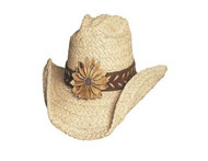 Sunset Straw Hat by Bullhide & Montecarlo Style 2130