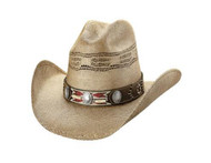 Trailblazer Straw Hat by Bullhide & Montecarlo Style 5014