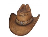 Corral Dust Straw Hat by Bullhide & Montecarlo Style 2879