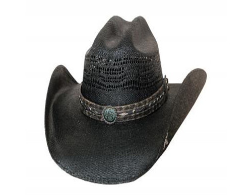 Corral Dust Straw Hat by Bullhide & Montecarlo Style 2879BL