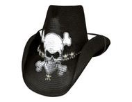 Endless Ride Straw Hat by Bullhide & Montecarlo Style 2450