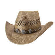 Promises Straw Hat by Bullhide & Montecarlo Style 5001