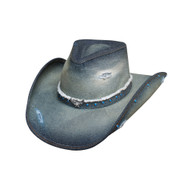 Silver Wings Straw Hat by Bullhide & Montecarlo Style 2828