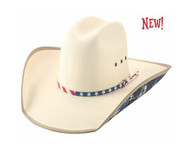 Wallace Straw Hat by Bullhide & Montecarlo Style 5047