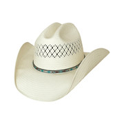 Beers Ago Straw Hat by Bullhide & Montecarlo Style 2780