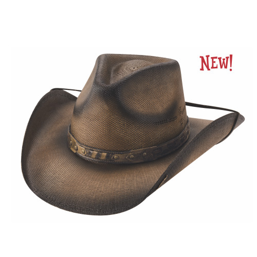 Norbeck Straw Hat by Bullhide & Montecarlo Style 5045