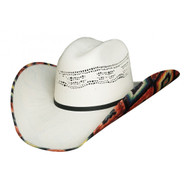 Wild Thoughts 2 Straw Hat by Bullhide & Montecarlo Style 2970