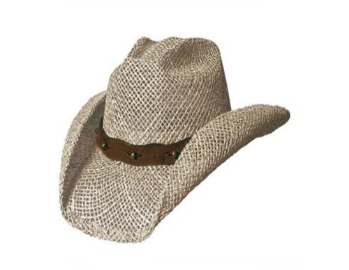 After Party Straw Hat by Bullhide & Montecarlo Style 221