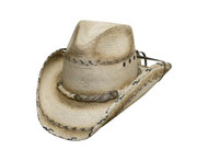 Running Iron 15x Straw Hat by Bullhide & Montecarlo Style 2851