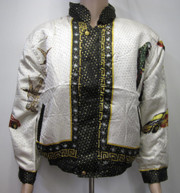 My 3 Animals Silk Bomber Jacket Front view