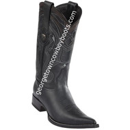Men's Wild West Leather Boots 3X Toe Handcrafted 2952705