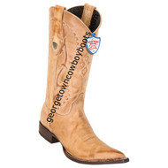 Men's Wild West Janrry Genuine Leather 3x Toe Boots Handmade 2953651