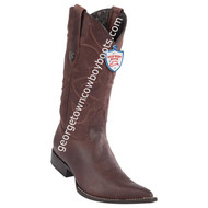 Men's Wild West Desert Leather 3x Toe Boots Handcrafted 2955007
