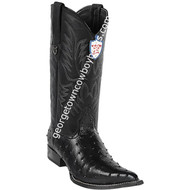Men's Wild West Ostrich Print Boots 3X Toe Handcrafted 6950305