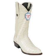 Men's Wild West Caiman Tail J Toe Boots Handcrafted 2990104