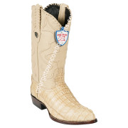 Men's Wild West Caiman Tail J Toe Boots Handcrafted 2990111