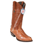 Men's Wild West Caiman Tail J Toe Boots Handcrafted 2990103
