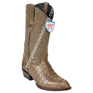 Men's Wild West Caiman Tail J Toe Boots Handcrafted 2990165