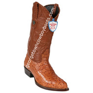 Men's Wild West Caiman Hornback J Toe Boots Handcrafted 2990203