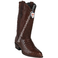 Men's Wild West Caiman Belly Print Boots J Toe Handcrafted 6998207