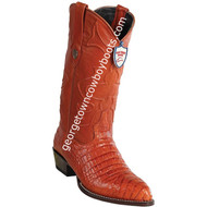 Men's Wild West Caiman Belly Print Boots J Toe Handcrafted 6998203