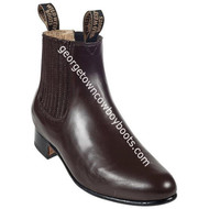 Men's Wild West Charro Leather Boots Handcrafted 2615146