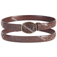 Wild West Shark Belt With Leather Lining 2C11FE9307