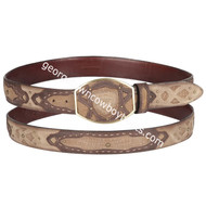 Wild West Shark Belt With Leather Lining 2C11FE9315