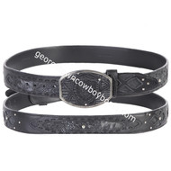 Wild West Teju Belt With Leather Lining 2C11FE0774