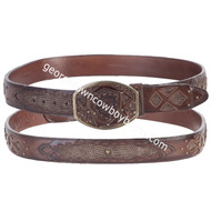 Wild West Teju Belt With Leather Lining 2C11FE0735
