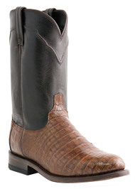 Crocodile Belly Sienna Roper Luchesse Western Roper Style Boots M1640