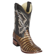Men's Los Altos Genuine Caiman Belly Leather Boots Handcrafted 8228283