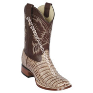 Men's Los Altos Genuine Caiman Belly Leather Boots Handcrafted 8228272