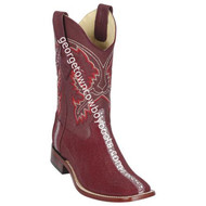 Men's Los Altos Genuine Stingray Rowstone Leather Boots Handcrafted 8221106