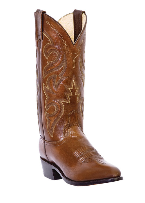 Dan Post DP2111R - Medium Round Toe Western Cowboy Boots