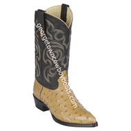Men's Los Altos Genuine Full Quill Ostrich Boots Handcrafted 990353