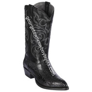Men's Los Altos Genuine Ostrich Leg Boots Handcrafted 990505