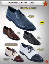 Dress Shoes Caiman Belly and Lizard by Los Altos Boots
