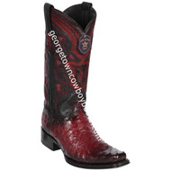 Men's Los Altos Full Quill Ostrich Boots European Square Toe Handcrafted 760343