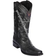 Men's Los Altos Smooth Ostrich Boots European Square Toe Handcrafted 769705