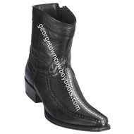 Men's Los Altos Rowstone Stingray And Deer Boots European Square Toe Handcrafted 76BF1105