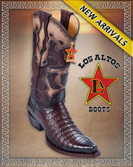 Snip Toe Caiman Western Boots Color : Faded Brown Style: 94F8216