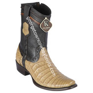 Men's King Exotic Caiman Belly Boots Dubai Toe Handcrafted 479BG8251